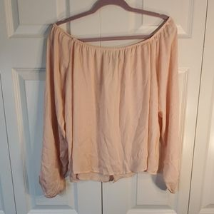 F21 shoulder blouse